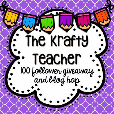 Check Out This Blog Hop with the Krafty Teacher