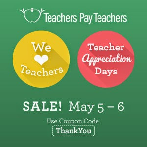 Teacher Appreciation Week at TpT
