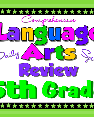 Writing the Fifth Grade Daily Language Review