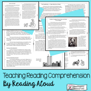 Reading Aloud - High Interest Reading Passages