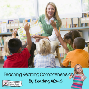Teacher Reading Aloud in Upper Elementary