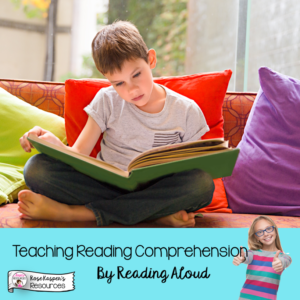 Reading Aloud in Upper Elementary, Boy Reading Independently