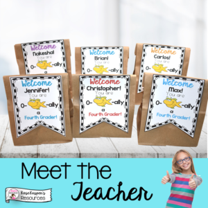 Meet the Teacher Goodie Bags